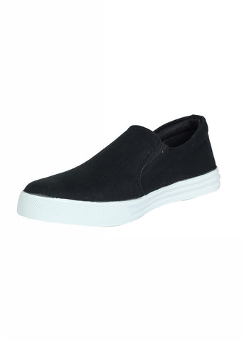 Slip On Canvas Shoe - Black