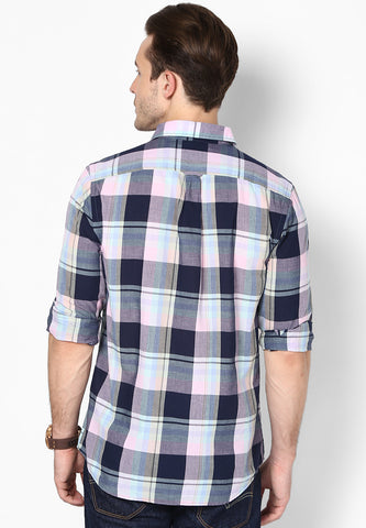Carwash Black White Checks Shirt