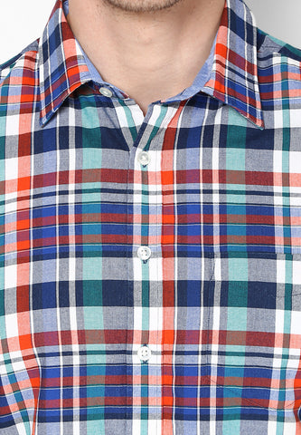 Weekend Selection - Quadcolor check Shirt