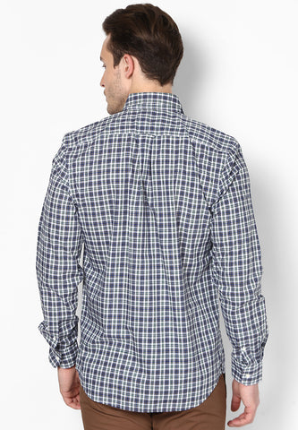 Friday Dressing - Black White Checks Shirt