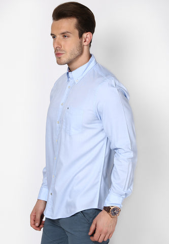 Sunday Best - Sky Blue Plain Shirt