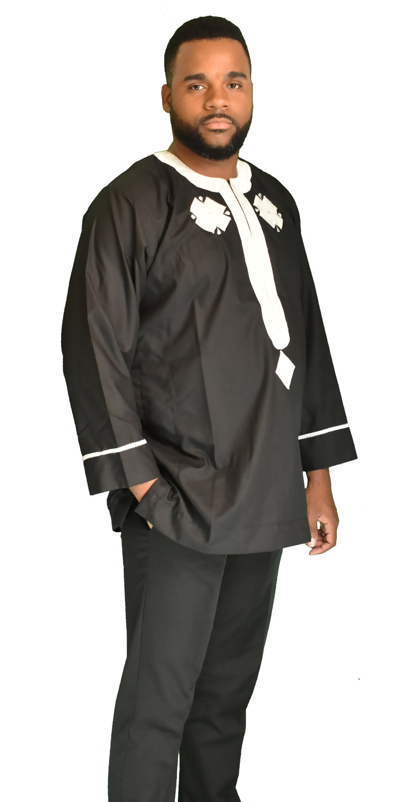 Prince Dress Shirt Dashiki
