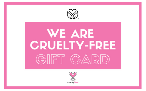 We Are Cruelty Free Gift Card