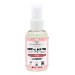 Rose Hand & Surface Sanitizer  (2oz)