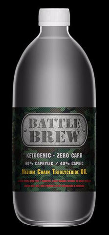 Battle Brew MCT Oil 500ml