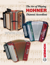 Load image into Gallery viewer, Hohner Corona Xtreme Accordion GCF SOL Black Negro +Case/Bag/Straps/T-Shirt/DVD | Authorized Dealer