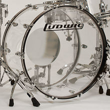 Load image into Gallery viewer, Ludwig Vistalite Clear ZEP SET 14x26/16x18/16x16/10x14/6.5x14 Drums Kit Shell Pack Authorized Dealer