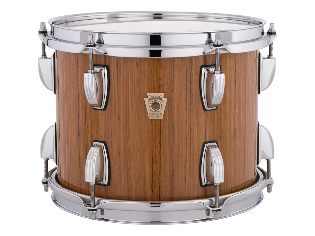 Ludwig Classic Maple Exotic Fumed Eucalyptus Finish Downbeat Kit 14x20_8x12_14x14 Custom Drum Set