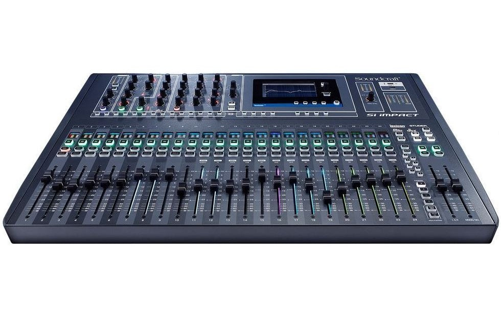 Soundcraft SI Impact 40-Input 32-in/32-out USB Interface Digital Mixing Console +Free 2-Day Ship