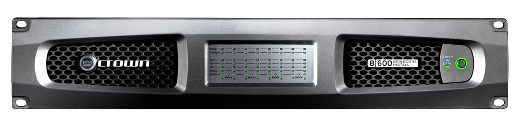 Crown DCi 8|600 8-channel 600W Analog 70V/100V Power Amplifier | Overnight Ship |  Authorized Dealer