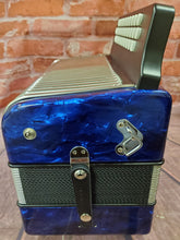 Load image into Gallery viewer, Hohner Corona II FBbEb/FBE/FA Blue Accordion Acordeon +GigBag,Straps,Shirt,Backpad Authorized Dealer