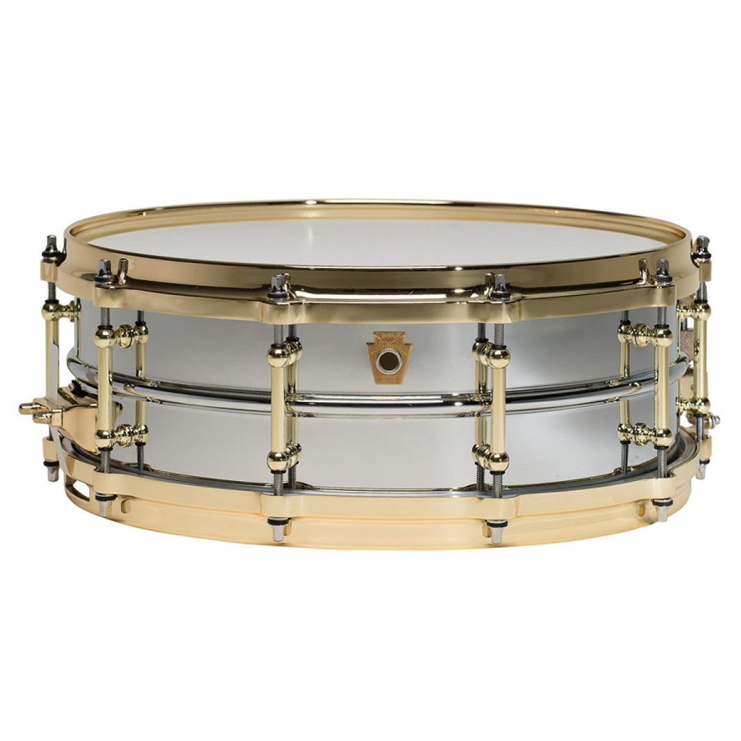 Ludwig LB400BBTWM Chrome Over Brass 5x14 Kit Snare Drum Plated Tube Lug MAKE OFFER Authorized Dealer