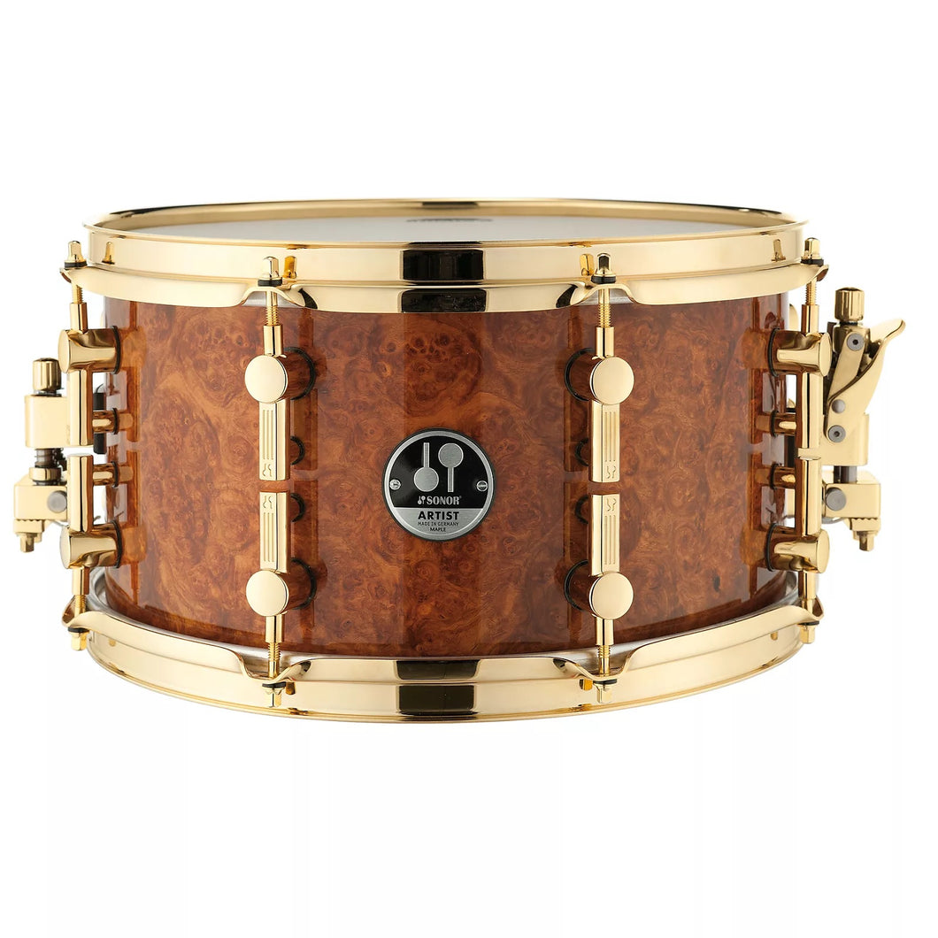 Sonor 13x7 Sonor Amboina Maple  Artist Snare Drum Made In Germany  NEW Authorized Dealer - WorldShip
