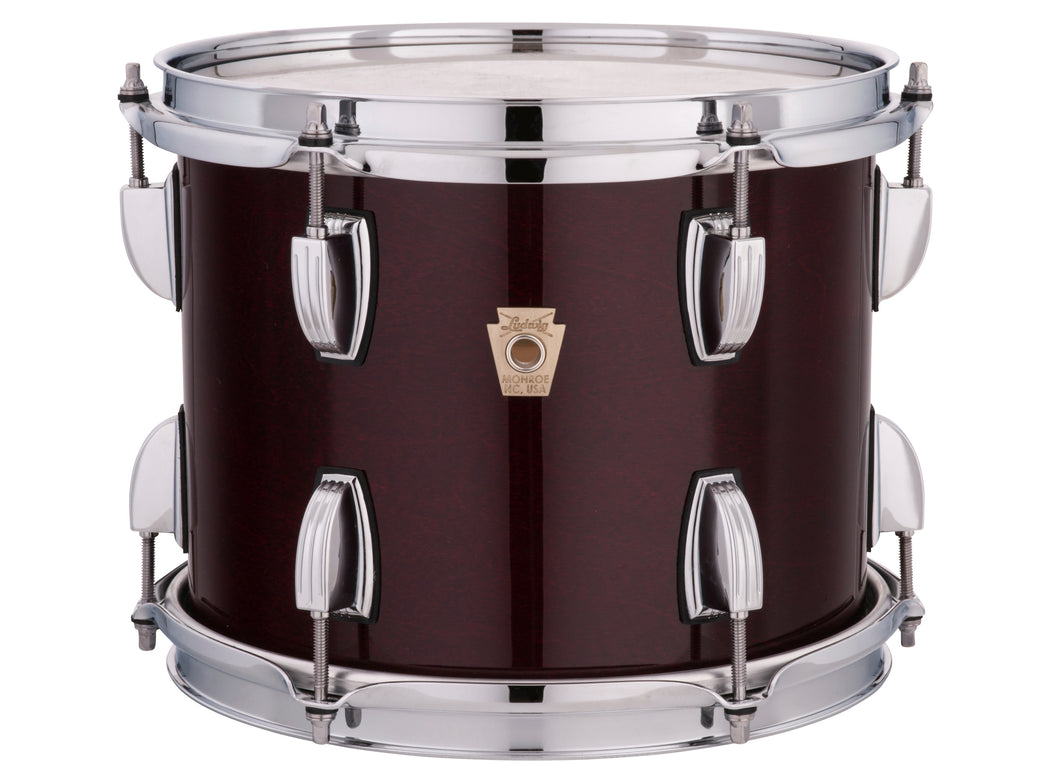 Ludwig Classic Maple Cherry Stain Mod 18x22_8x10_9x12_16x16 Drums Special Order | Authorized Dealer