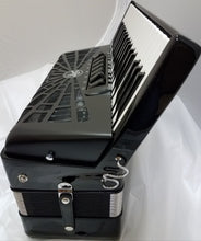 Load image into Gallery viewer, Hohner Bravo III 96 Bass Black Piano Accordion Acordeon +GigBag, Straps, DVD - NEW Authorized Dealer
