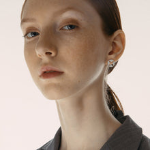 Load image into Gallery viewer, X asymmetric earrings
