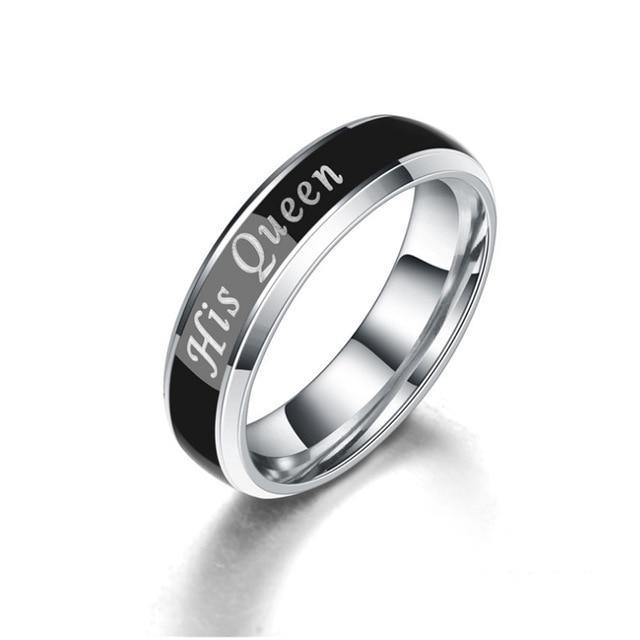 Her King His Queen Mood Ring - Kingsnqueenz