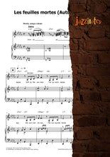 Load image into Gallery viewer, Erchinger, Jan-Heie: Autumn Leaves (Les feuilles mortes) - Sheet Music Download