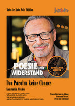 Lade das Bild in den Galerie-Viewer, Wecker, Konstantin: Den Parolen keine Chance - Noten Download