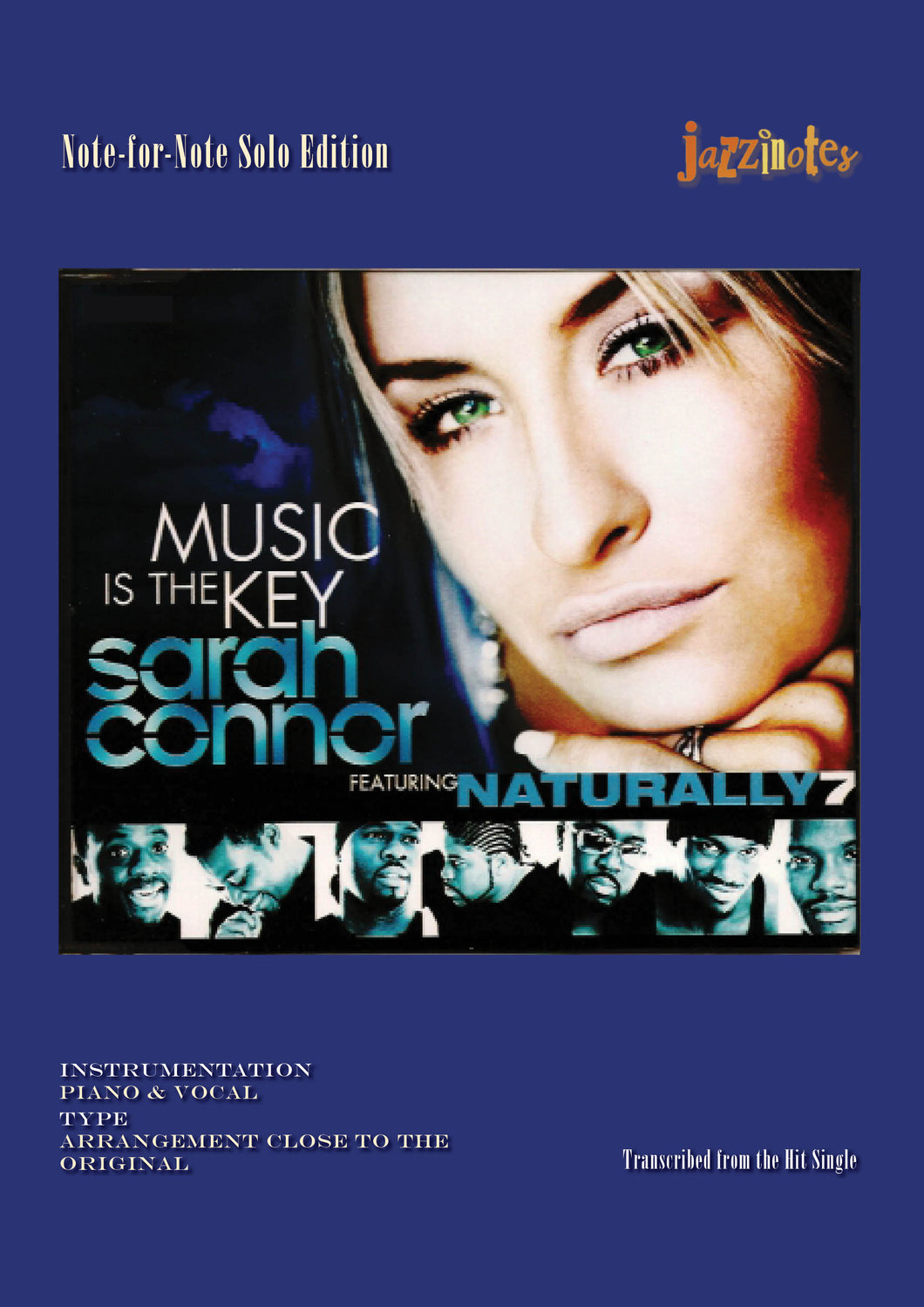 Connor, Sarah: Music Is The Key - Sheet Music Download