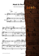 Load image into Gallery viewer, Connor, Sarah: Music Is The Key - Sheet Music Download