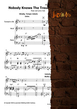 Load image into Gallery viewer, Armstrong, Louis: Nobody Knows The Trouble I've Seen - Sheet Music Download