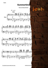 Load image into Gallery viewer, Jarrett, Keith: Summertime - Sheet Music Download