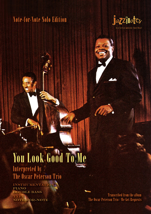 Peterson, Oscar, Trio: You Look Good To Me - Musiknoten Download