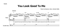 Lade das Bild in den Galerie-Viewer, Peterson, Oscar, Trio: You Look Good To Me - Musiknoten Download