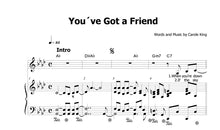 Load image into Gallery viewer, King, Carole: You´ve Got a Friend - Sheet Music Download