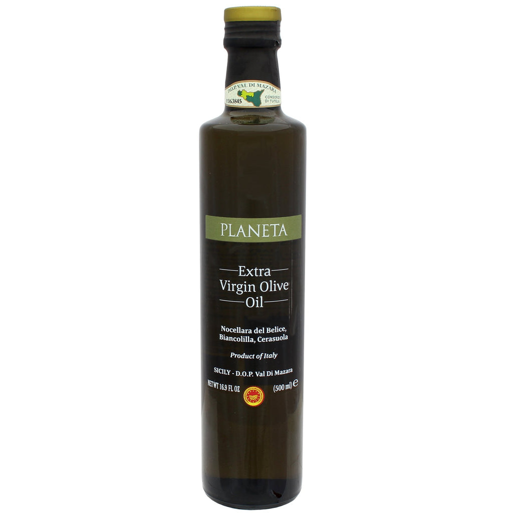 Extra Virgin Olive Oil by Planeta, Made in Italy