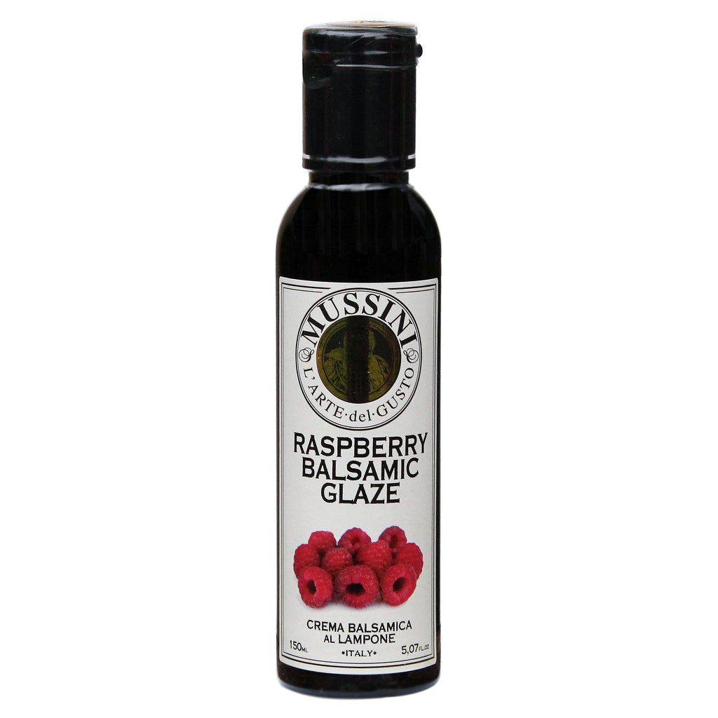Raspberry Balsamic Glaze by Mussini, Made in Italy