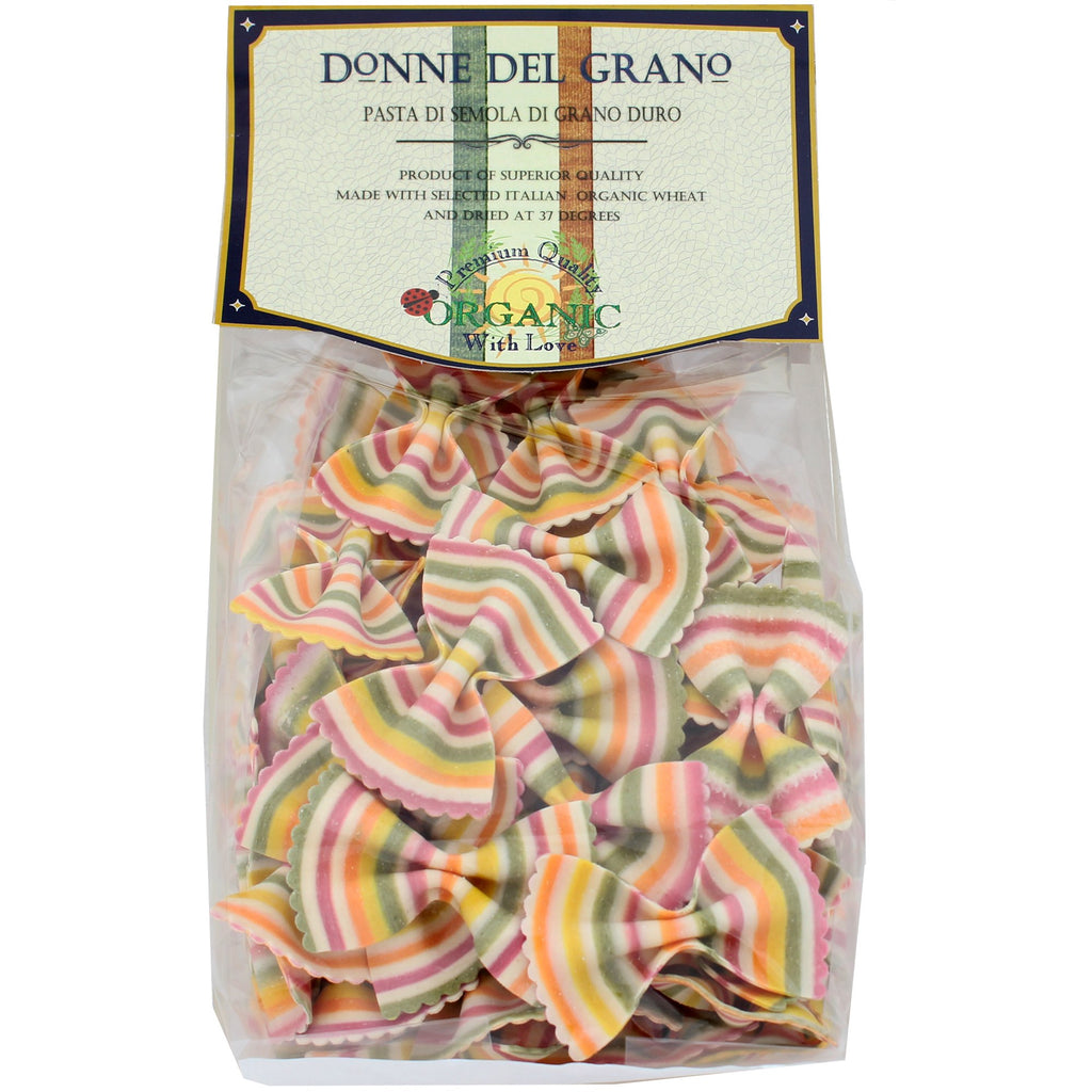 Organic Rainbow Colored Bowties, Made by Italy