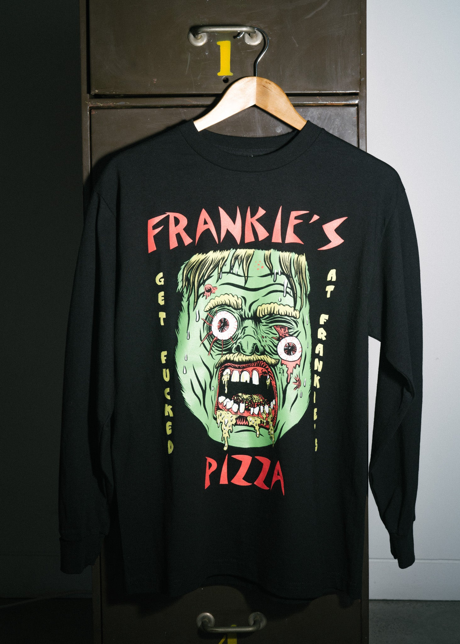 Frankie's Pizza Get Fucked T-Shirt