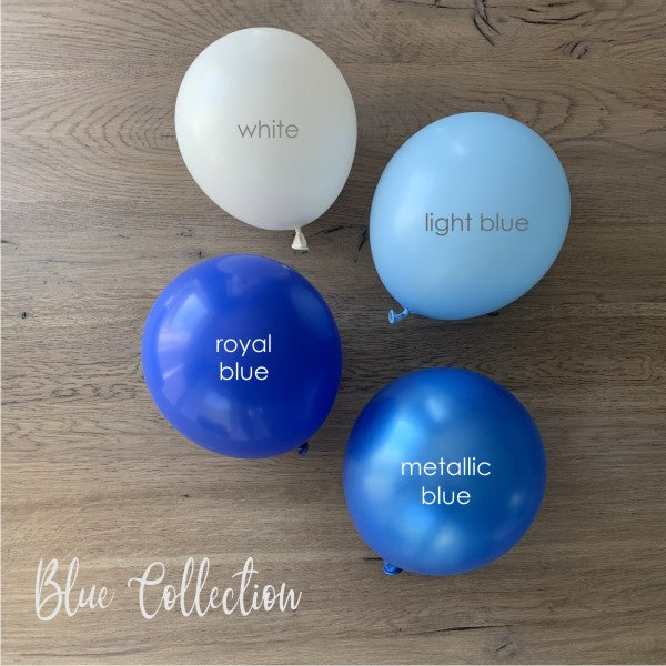 Blue Collection - 20er Latexballone-Set