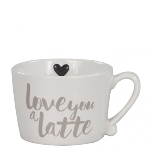 BASTIONCOLLECTIONS  Henkelbecher Love you a Latte