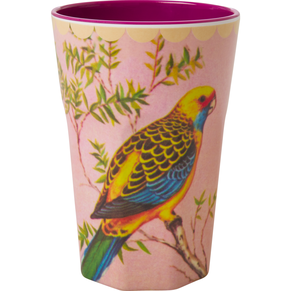 RICE Melamin Latte Cup Bird