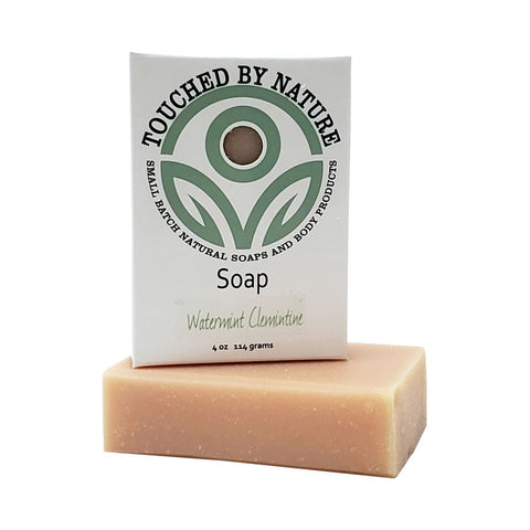 Watermint Clementine Soap