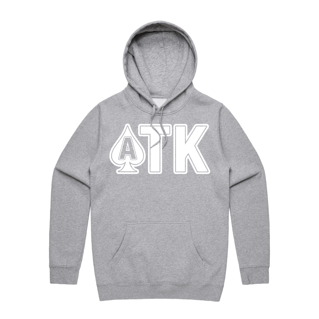 OG Logo Hoodie Heather Grey