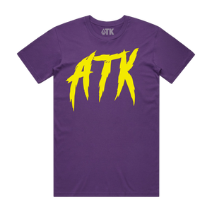 Scratch Tee Purple