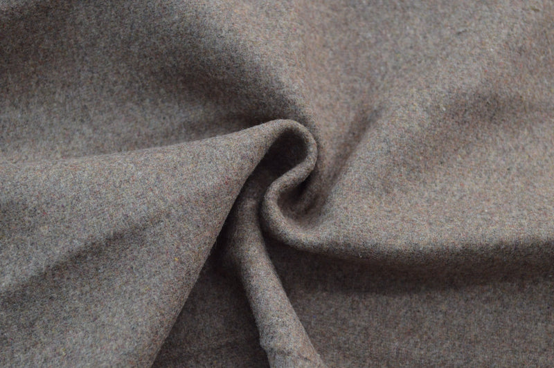 Wool Melton Coating Mocha 5 YARDS