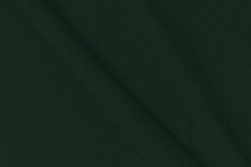 Double Brushed Poly Solid Hunter Green 5 YARDS