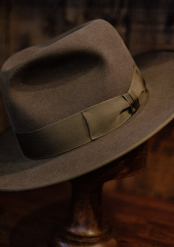 Barbosa Fedora - Antique Brown