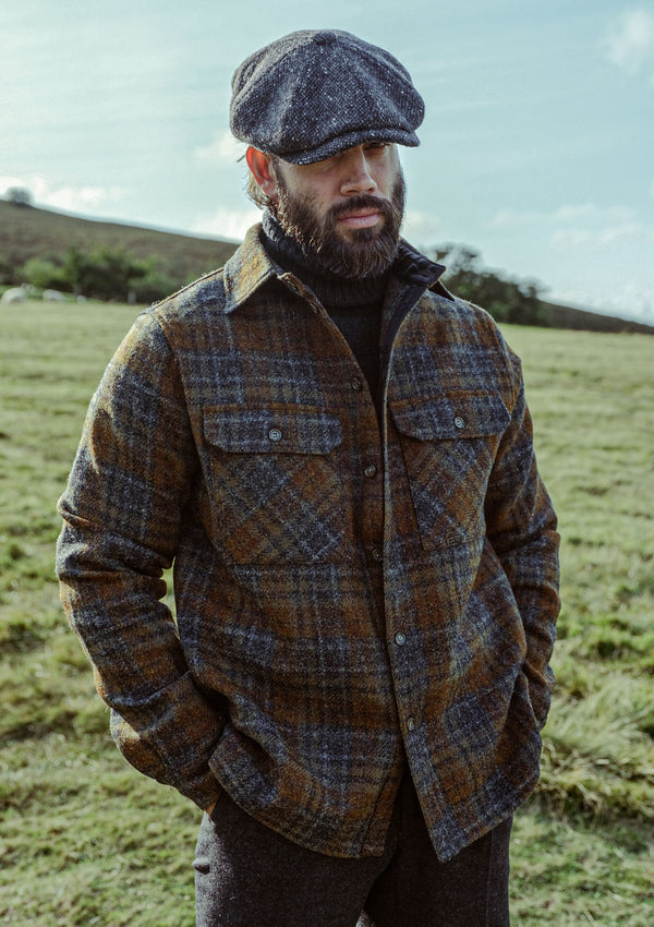 Brower Over Shirt - Harris Tweed