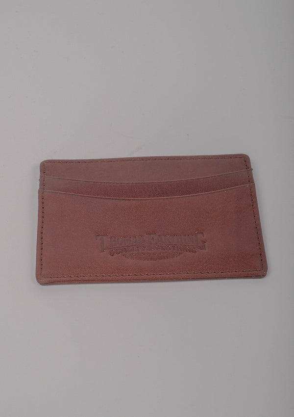 Card Wallet - Brown Leather