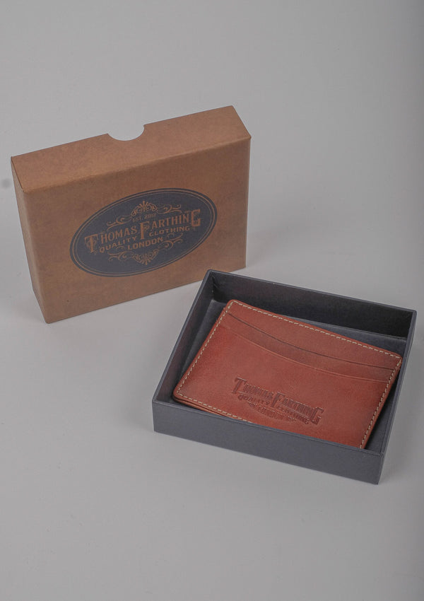 Card Wallet - Tan Leather