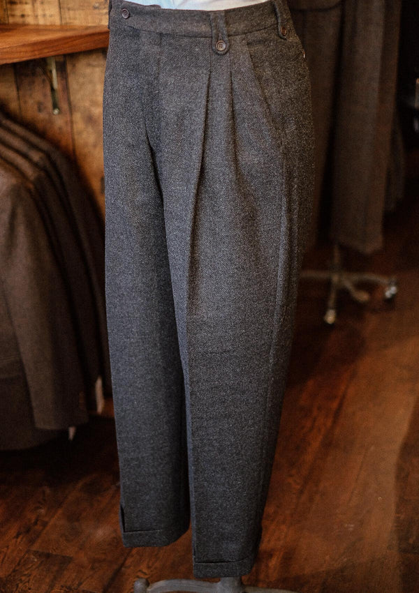 Coleman Gene Trousers - Dark Grey Flannel