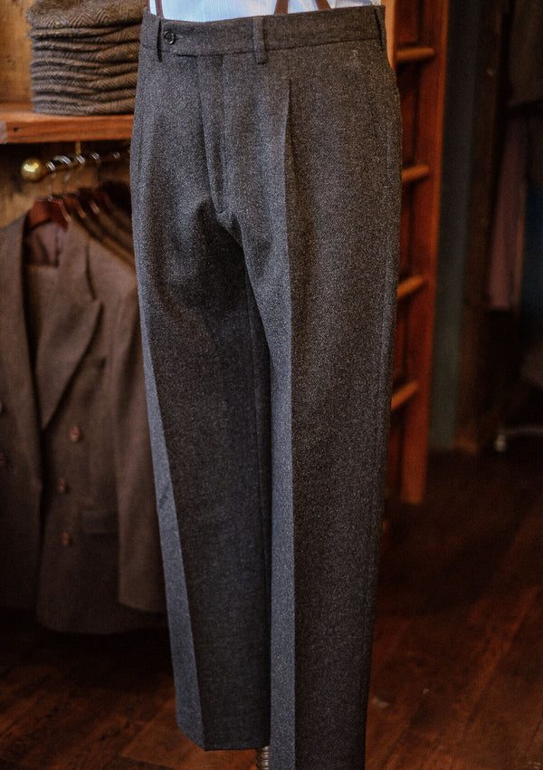 Coleman Classic Suit Trousers - Dark Grey Flannel