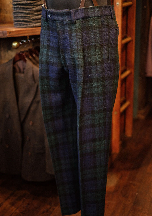Edison Harris Tweed Trousers - Blackwatch