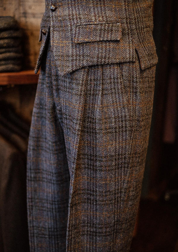 Erwood Gene Trousers - Harris Tweed